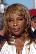 Athletic Sport Posters - Mary J. Blige At Arrivals For 2007 Espy Poster by Everett