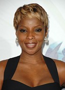Novel Art - Mary J. Blige At Arrivals For Afi Fest by Everett