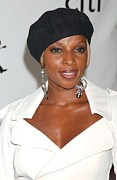 Nast Prints - Mary J. Blige At Arrivals For The 4th Print by Everett