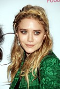 2010s Hairstyles Framed Prints - Mary-kate Olsen  At Arrivals For First Framed Print by Everett