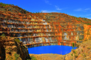 Kathleen Photo Originals - Mary Kathleen uranium mine by John Miner