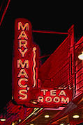 Photographers Milton Photo Posters - Mary Macs Resturant Atlanta Poster by Corky Willis Atlanta Photography
