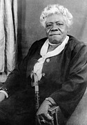 Activist Photo Prints - MARY McLEOD BETHUNE Print by Granger