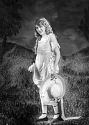 Full-length Portrait Metal Prints - Mary Pickford, Ca. 1921 Metal Print by Everett