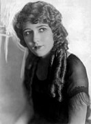 Fringes Framed Prints - Mary Pickford, Ca. 1925 Framed Print by Everett