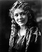 Ringlets Framed Prints - Mary Pickford, Circa 1915 Framed Print by Everett