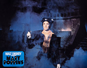 1960s Poster Art Posters - Mary Poppins, Julie Andrews, 1964 Poster by Everett