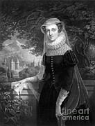 King James Art - Mary Queen Of Scots by Photo Researchers