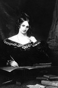 Historical Photo Posters - Mary Shelley Poster by Everett