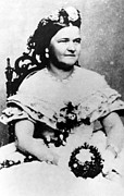 1860s Posters - Mary Todd Lincoln, C. 1860s Poster by Everett