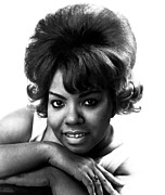 1960s Hairstyles Posters - Mary Wells, 1943-1992, American R&b Poster by Everett