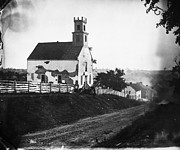 Sharpsburg Photos - Maryland: Church, 1862 by Granger