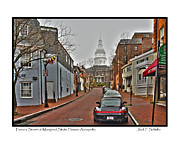 Francis Photo Framed Prints - Maryland State House Framed Print by Jack Schultz