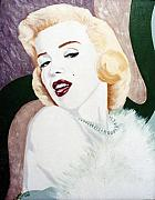Marylin Paintings - Marylin by Loretta Orr