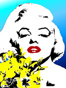 Marylin Paintings - Marylin Monroe by Jann Paxton