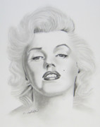 Joseph Palotas Art - Marylin Monroe  by Joseph Palotas