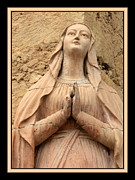 Praying To Mother Mary Prints - Marys Prayers Print by Carol Groenen