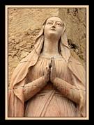 Mary's Prayers Print by Carol Groenen