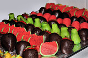 Watermelons Photos - Marzipan and Chocolate by Kristin Elmquist
