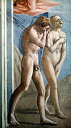 Genesis Photos - Masaccio: Expulsion by Granger