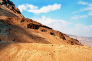Homeland Prints - Masada Mountaintop Fortress Print by Thomas R Fletcher