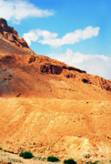 Homeland Prints - Masada Print by Thomas R Fletcher