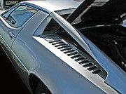 Samuel Sheats Posters - Maserati Merak Detail Poster by Samuel Sheats