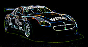 Historic Vehicle Prints - Maserati Print by Sebastian Musial
