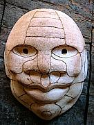 Featured Ceramics - Mask by Alberto Cidraes