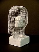 Bust Sculptures - Mask by Gary Kaemmer