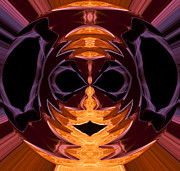 Third Eye Digital Art - Mask by Gregory Scott
