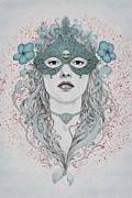 Masked Print by Diego Fernandez