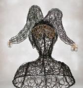 Masked Jester Print by Charlene White