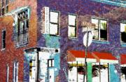 Mason Street And Cherry Print by Jeff Gibford