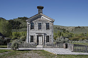 Masonic Framed Prints - Masonic Temple 3 - Bannack Montana Framed Print by Daniel Hagerman
