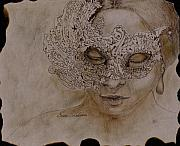 Fine Art - Other Artwork - Masquerade by Enzie Shahmiri