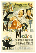 Fod Prints - Masquerade In Mexico, Dorothy Lamour Print by Everett