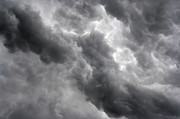 Leaden Sky Prints - Masses Of Dark Clouds Print by Michal Boubin