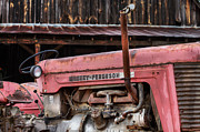 Old Barns Prints - Massey Ferguson Print by JC Findley
