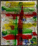 Stormy Weather Paintings - Mast on fire by Kimanthi Toure
