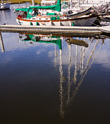 Ports Originals - Mast Reflections by Michael Ray