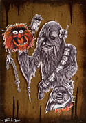Chewbacca Framed Prints - Master of Puppets Framed Print by Iosua Tai Taeoalii