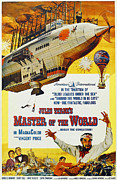 1960s Poster Art Posters - Master Of The World, Lower Right Poster by Everett