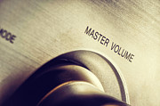 Music Ipod Posters - Master Volume - On Poster by Mustafa Otyakmaz