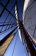Sailing Vessel Photos - Masthead by Skip Willits