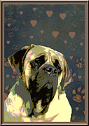 Mastiff Print by One Rude Dawg Orcutt