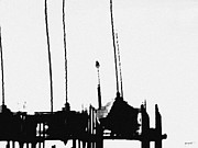 Dallas Digital Art Metal Prints - Masts Metal Print by Lawrence P Kaster