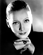 Thin Eyebrows Photos - Mata Hari, Greta Garbo, Portrait by Everett