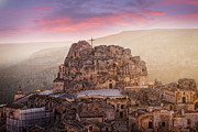 Sassi Framed Prints - Matera Sassi Framed Print by Michael Avory