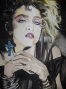 Madonna Photos - Material Girl by Lance Gebhardt